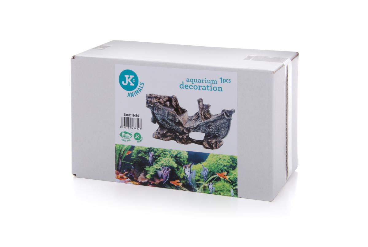 JK ANIMALS Malý vrak lode – keramická dekorace do akvárií a terárií   © copyright jk animals, všechna práva vyhrazena