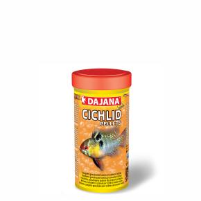 Dajana Cichlid pellets, krmivo (granule) pre ryby 250ml, 2 mm