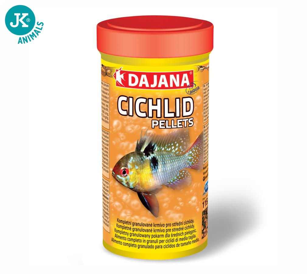Dajana Cichlid pellets, krmivo (granule) pre ryby 1 000ml, 3 mm | © copyright jk animals, všetky práva vyhradené