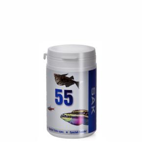 SAK 55, 300ml, veľ.0, pre rybky: 2–3cm, krmivo (granule) pre ryby