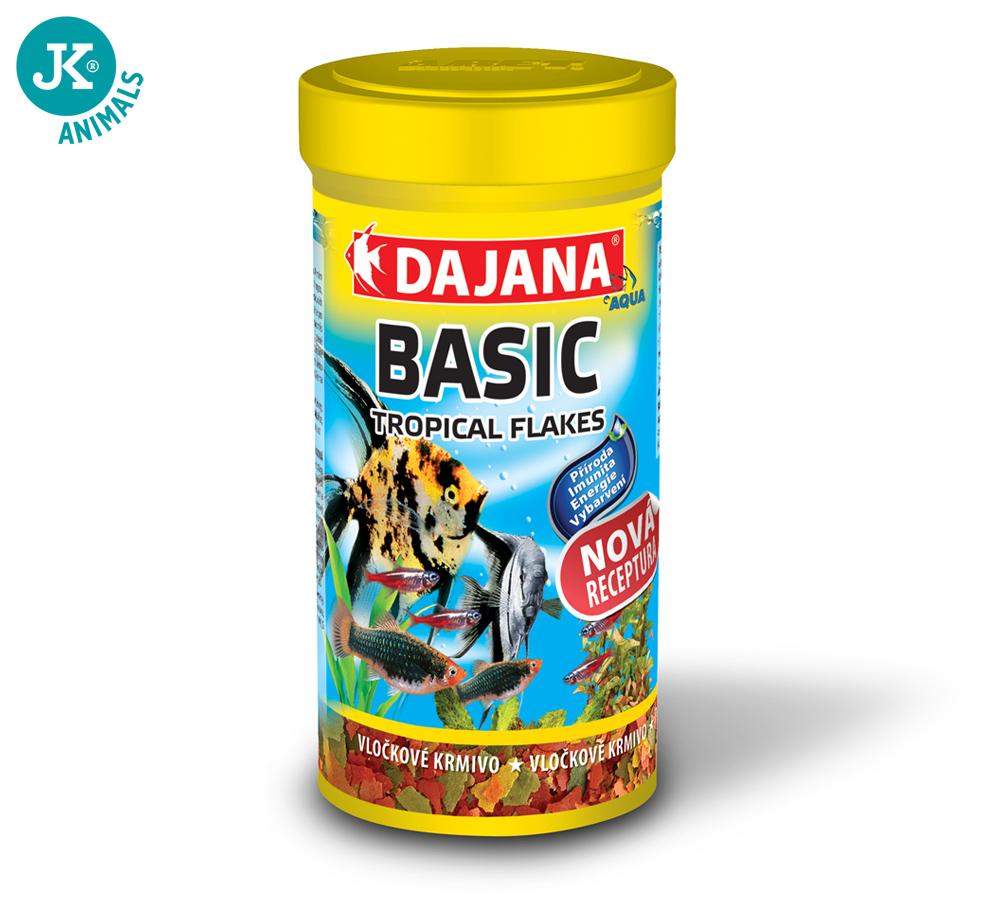 Dajana Basic Tropical flakes 1000ml  | © copyright jk animals, všechna práva vyhrazena
