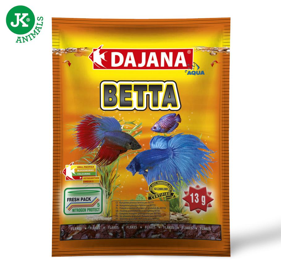 Dajana Betta vločky sáček 13g | © copyright jk animals, všechna práva vyhrazena