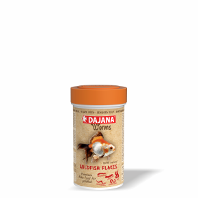 Dajana Worms Goldfish flakes 100ml vločky
