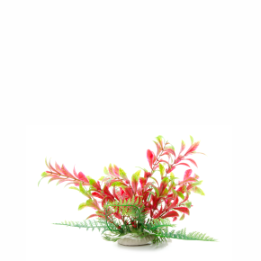 JK Ludwigia červenozelená, akvarijná plastová rastlinka