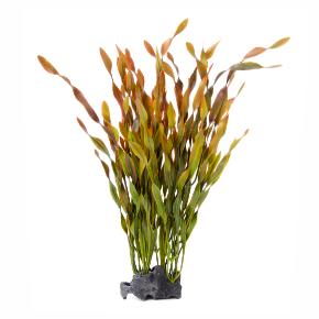 JK Vallisneria kameň, akvarijná plastová rastlinka