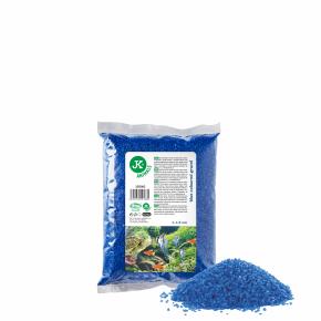Dekoračný štrk modrý 0,5kg