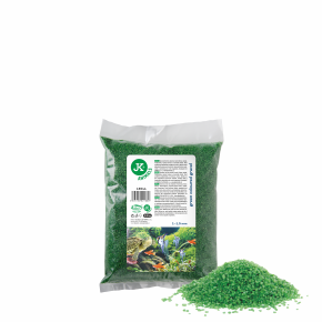 Dekoračný štrk zelený 0,5kg