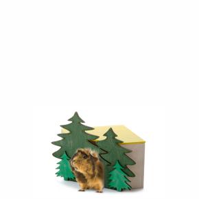 JK domček Les rohový č. 2, pre morčata