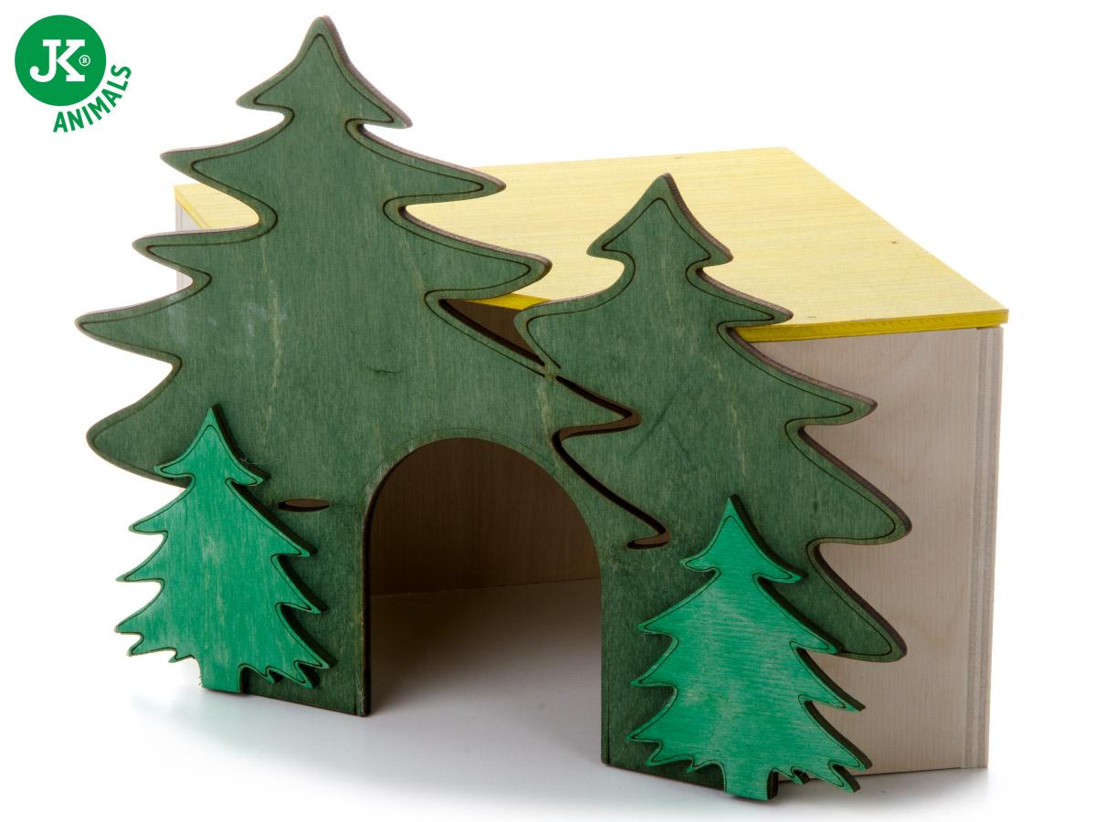 JK ANIMALS domček Les rohový č. 2, pre morčatá | © copyright jk animals, všetky práva vyhradené