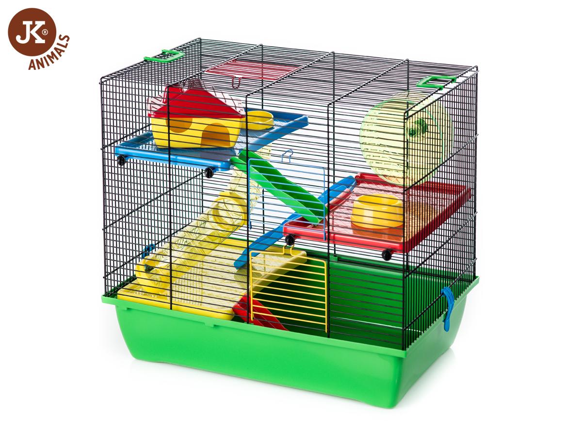 JK ANIMALS Pinky 3 color, klietka pre hlodavce | © copyright jk animals, všetky práva vyhradené