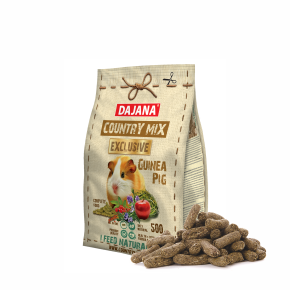 Dajana - COUNTRY MIX EXCLUSIVE, morča 500g, krmivo pre morčatá