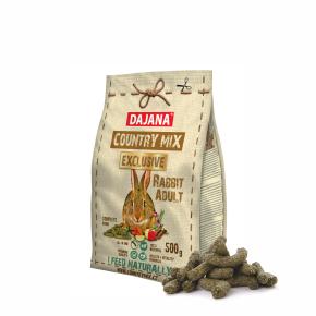 Dajana – COUNTRY MIX EXCLUSIVE, králík 500g, krmivo prekrálíky