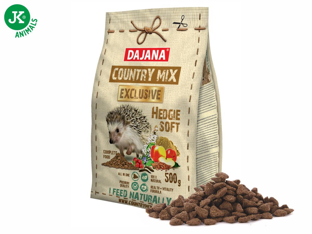 Dajana - COUNTRY MIX EXCLUSIVE, Hedgie (ježko) 500g | © copyright jk animals, všetky práva vyhradené