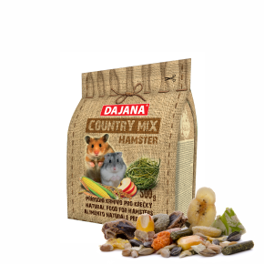Dajana – COUNTRY MIX, Hamster 500g, krmivo pre škrečky