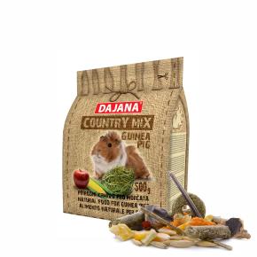 Dajana – COUNTRY MIX, Guinea Pig 500g, krmivo pre morčatá