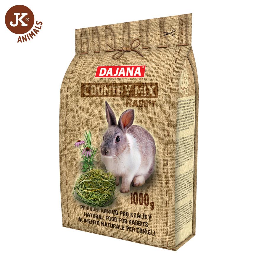 Dajana - COUNTRY MIX, Rabbit (králik) 1 000g | © copyright jk animals, všetky práva vyhradené.