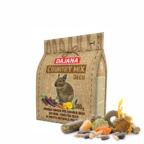 Dajana – COUNTRY MIX, Degu 500g, krmivo pre osmáky degu