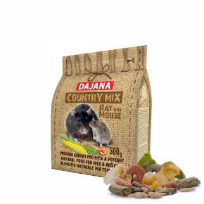 Dajana – COUNTRY MIX, Rat &Mouse 500g, krmivo pre potkany a myši