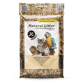 Natural Litter (podstielka zo suchej 100% pšeničnej slamy)