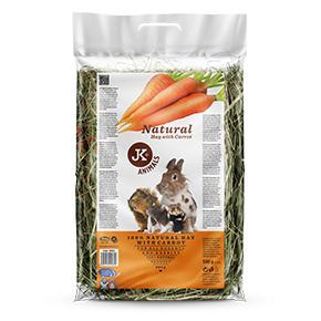 JK Prírodné seno s mrkvou 0,5kg