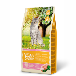 Sams Field Cat Adult Chicken, superprémiové kuracie granule 7,5 kg (Sam's Field)