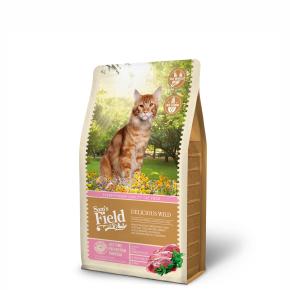 Sams Field Cat Delicious Wild, superprémiové granule sdivočinou 2,5kg (Sam's Field)