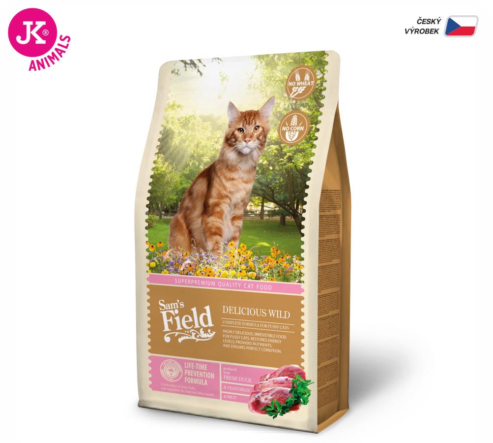 Sam 's Field Cat Delicious Wild | © copyright jk animals, všetky práva vyhradené