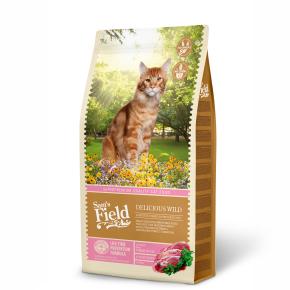 Sams Field Cat Delicious Wild, superprémiové granule s divočinou 7,5kg (Sam's Field)