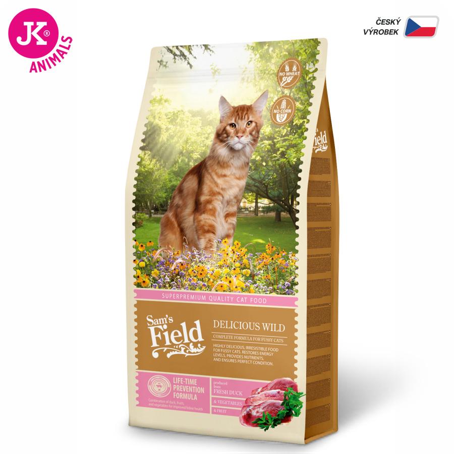 Sam 's Field Cat Delicious Wild   © copyright jk animals, všetky práva vyhradené