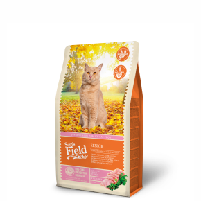 Sams Field Cat Senior, superprémiové granule 2,5 kg (Sam's Field)