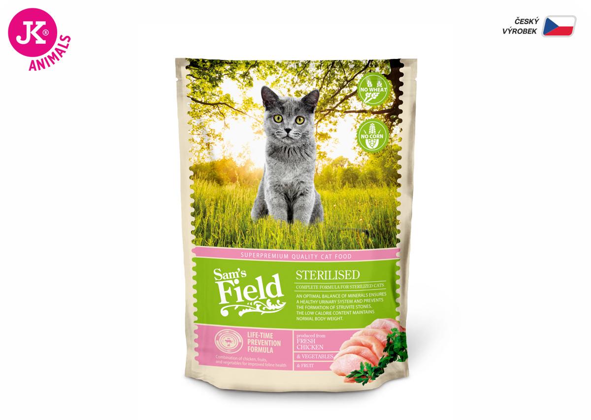 Sam 's Field Cat Sterilised | © copyright jk animals, všetky práva vyhradené