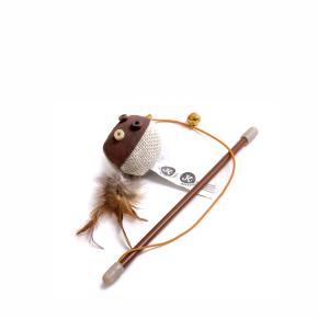 JK Balónik na prúte s catnipom (santou) 18 cm
