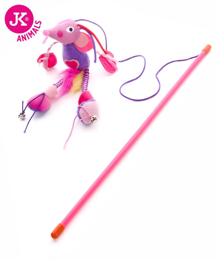 JK ANIMALS Plyšová myš na prúte, hračka | © copyright jk animals, všetky práva vyhradené