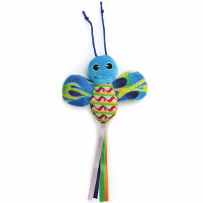 Modrý šuštiaci motýľ, hračka