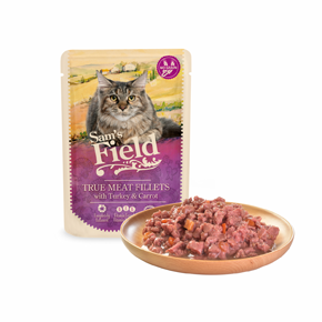 Sams Field True Meat Fillets with Turkey & Carrot (Sam's Field)