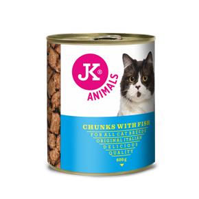 JK konzerva pre mačky s rybím mäsom 820g
