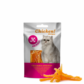 JK-Meat Snack Cat Chicken Strips 50 g
