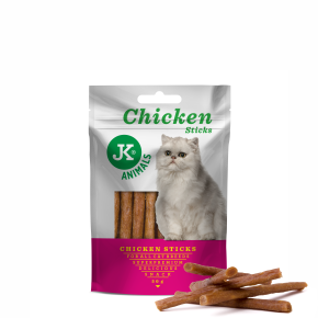 JK Meat Snack Cat Chicken Sticks, masová maškrta