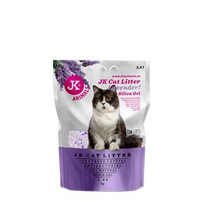 JK Litter Silica gel - lavender 1,6kg/3,8 l