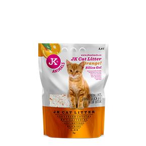 JK Litter Silica gel - orange 1,6kg/3,8 l