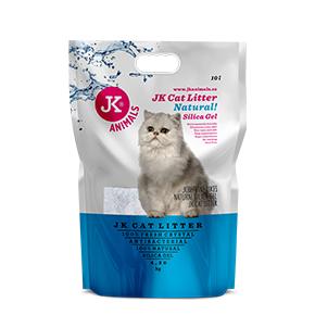 JK Litter Silica gel - natural 4,3kg/10 l