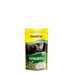 Gimcat GrasBits tablety s mačacie trávou 40g