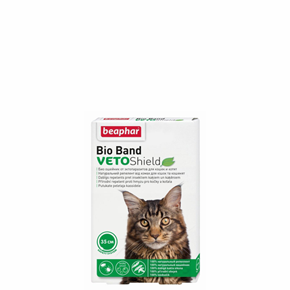 Beaphar - Bio Band, repelentný obojok pre mačky, 35 cm