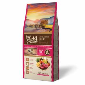 Sams Field Grain Free Beef (Angus), superprémiové granule 13kg (Sam's Field)