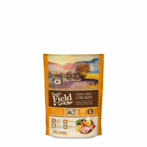 Sams Field Grain Free Chicken, superprémiové granule 800 g (Sam's Field)