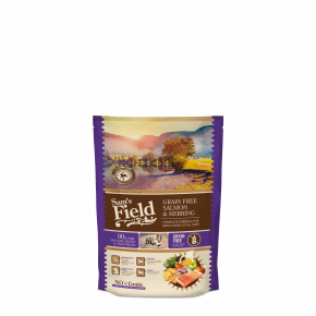 Sams Field Grain Free Salmon & Herring, superprémiové granule 800 g (Sam's Field)