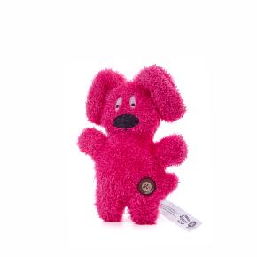 JK Jemný plyšový psík červený 24 cm