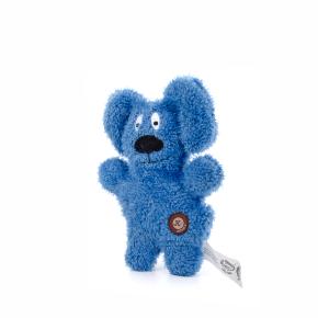 JK Jemný plyšový psík modrý 24 cm