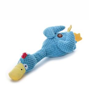 Plyšová kačica, plyšová pískacia hračka