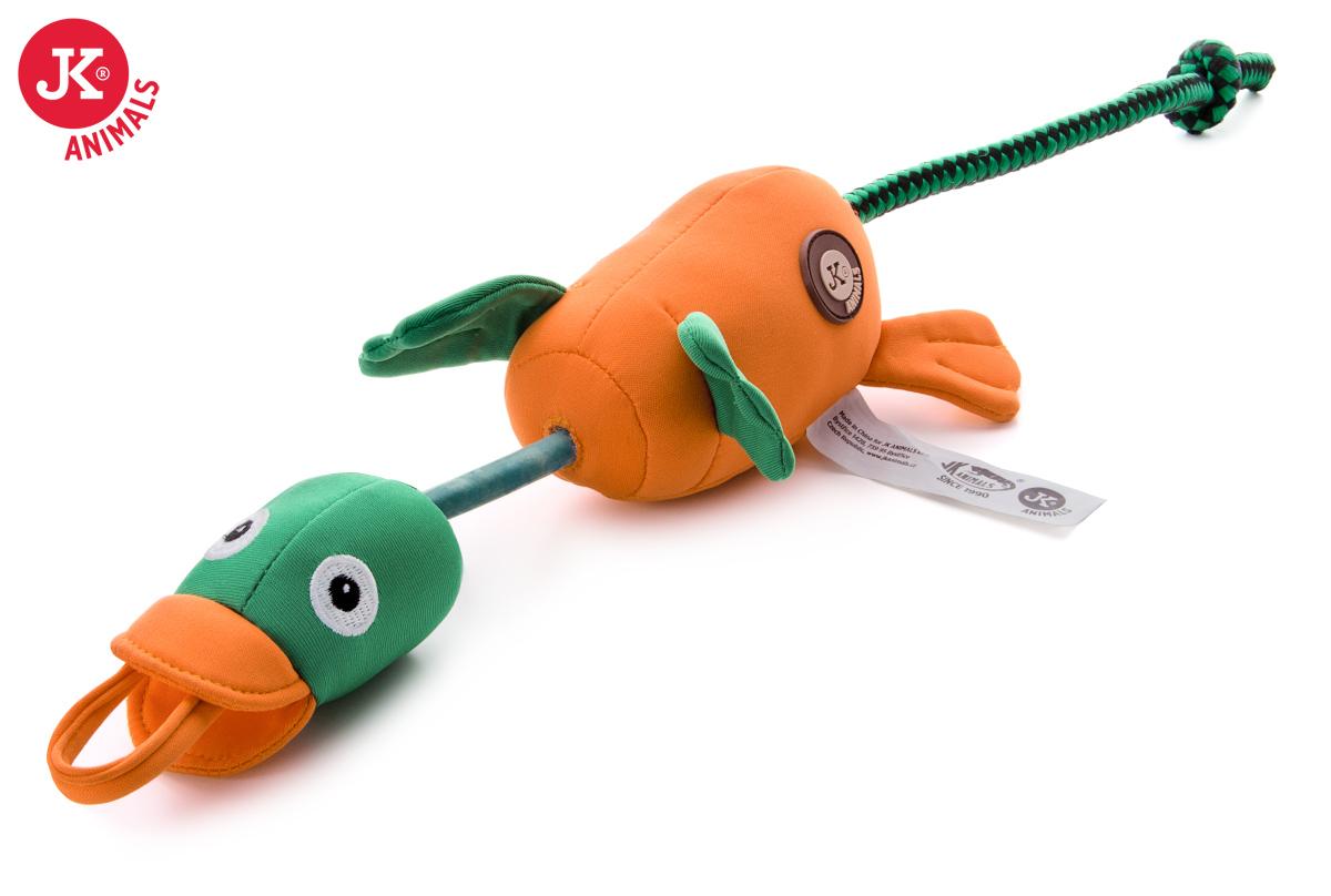 JK ANIMALS Lietajúca / vystreľovacie kačica, polyesterová pískacia plávajúce hračka | © copyright jk animals, všetky práva vyhradené
